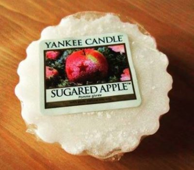 Yankee-Sugared-Apple-Wax-Melt-Candle-Review